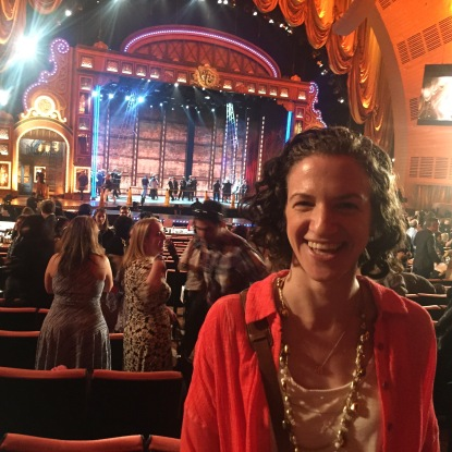 Tony Award Dress Rehearsal